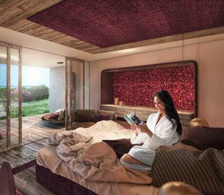 große Suite mit Ausblick