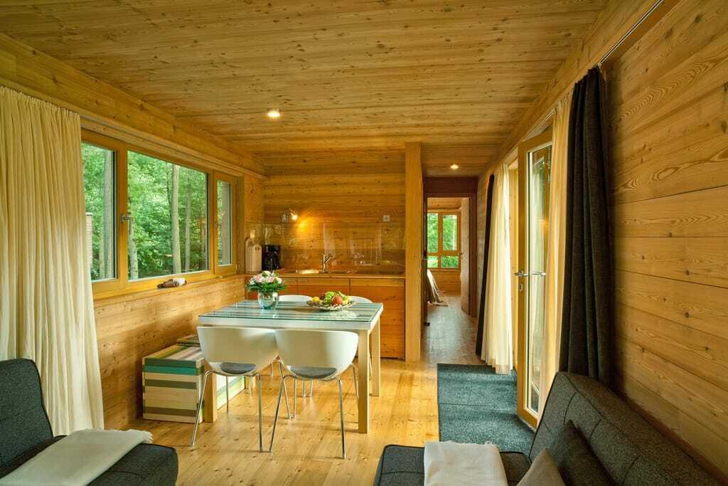 Baumhaussuiten im Resort Baumgeflüster, Innenansicht