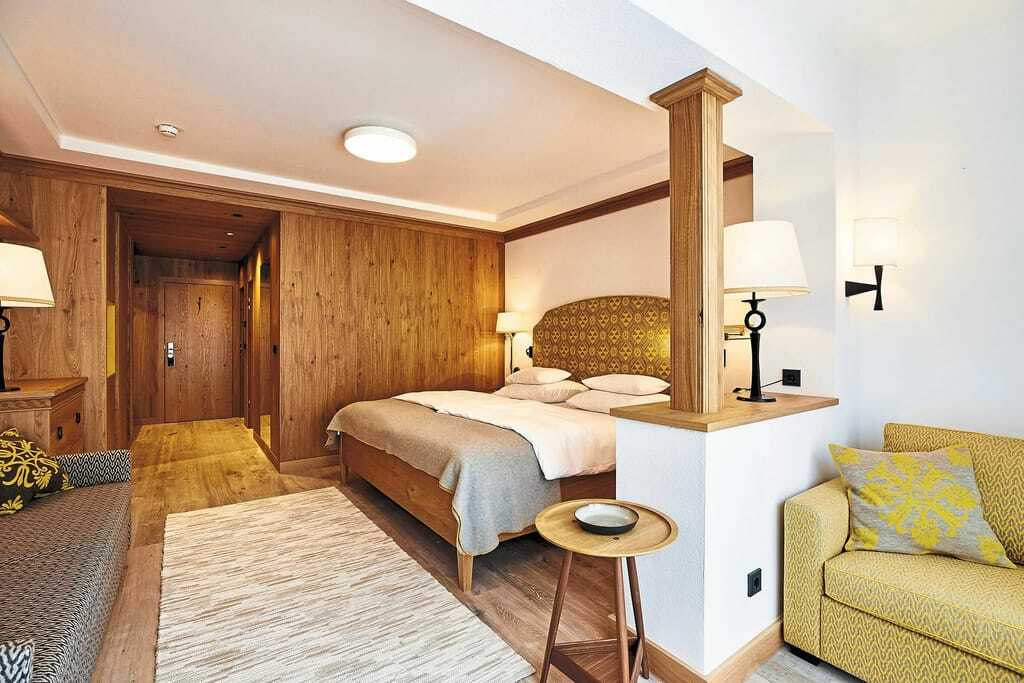 Blick in ein Doppelbettzimmer_Hochschober_TurracherHoehe
