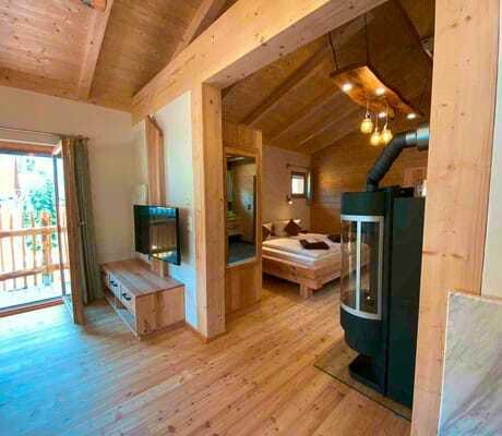 Zimmer mit Kamin_Waldeck_Philippsreut-Mitterfirmiansreut