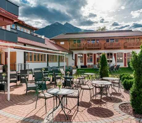 Terrasse, Hotel zum Gourmet