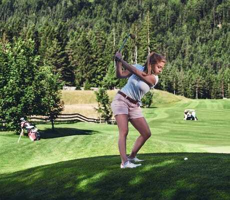 Golfspielerin Hotel zum Gourmet