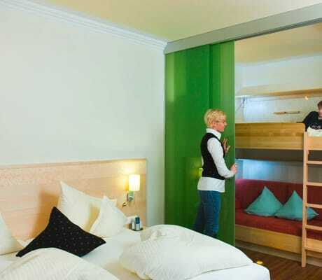 HotelzimmerMitStockbett_Kaerntnerhof