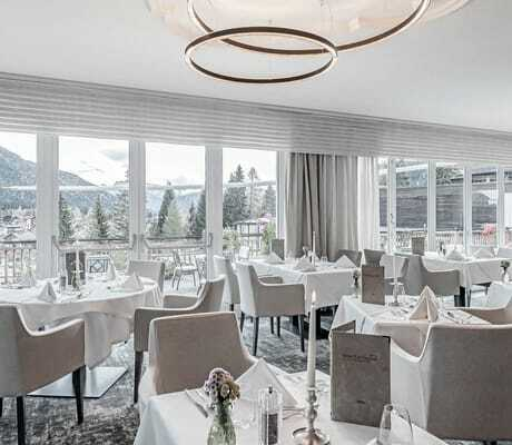 Blick ins Restaurant_Natur&Spa_Hotel_Lärchenhof