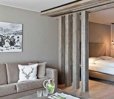 Blick in ein Doppelbettzimmer_Natur&Spa_Hotel_Lärchenhof