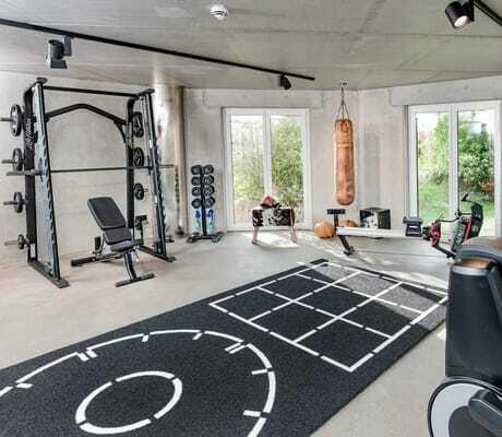 Fitnessraum im Lundenbergsand