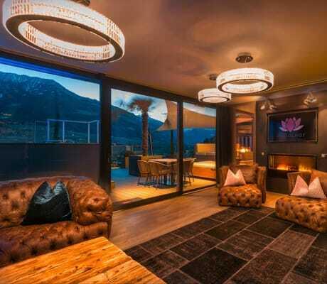 stylische Penthouse-Suite_Preidlhof_Luxery_DolceVita_Resort_Naturns