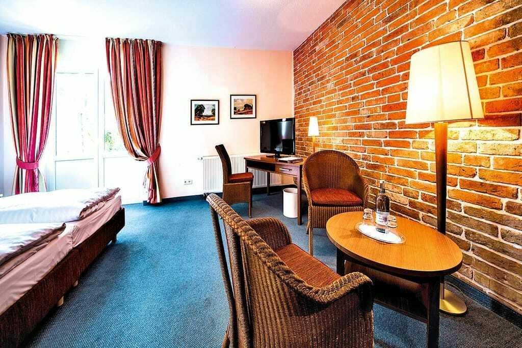 Blick in ein Zimmer_Seehotel_Heidehof_Klein_Nemerow