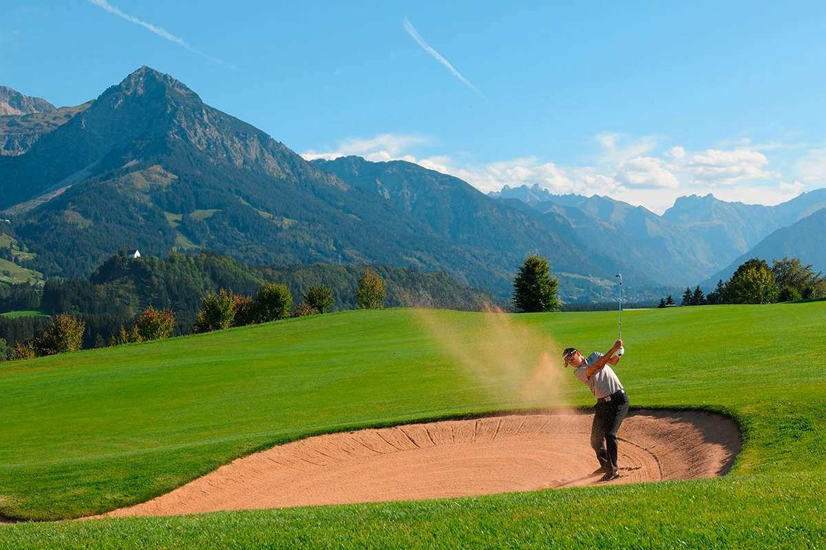 Golfspielen_Sonnenalp Resort