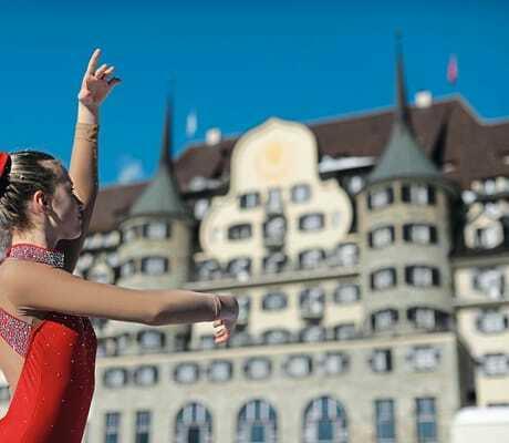 Eiskunstläuferin_Suvretta_House_St_Moritz