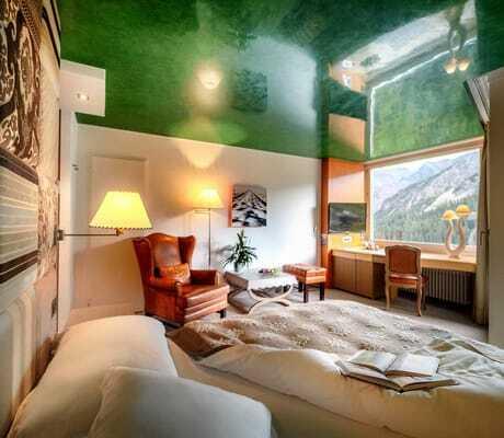 Modernes Doppelzimmer_Tschuggen