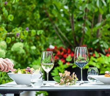 Gedeckter FrühstückstischWanderhotel_Vinschgerhof_Schlanders