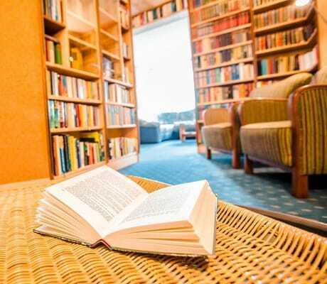 Blick in die Bibliothek_Waldeck_Philippsreut