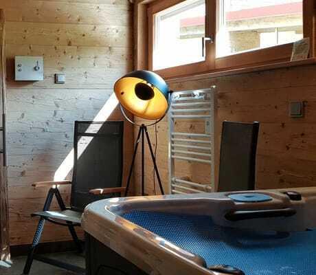 Sauna Whirlpool Cottage_Waldeck_Philippsreut