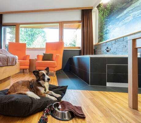 Almfrieden Hotel Zimmer mit Hund