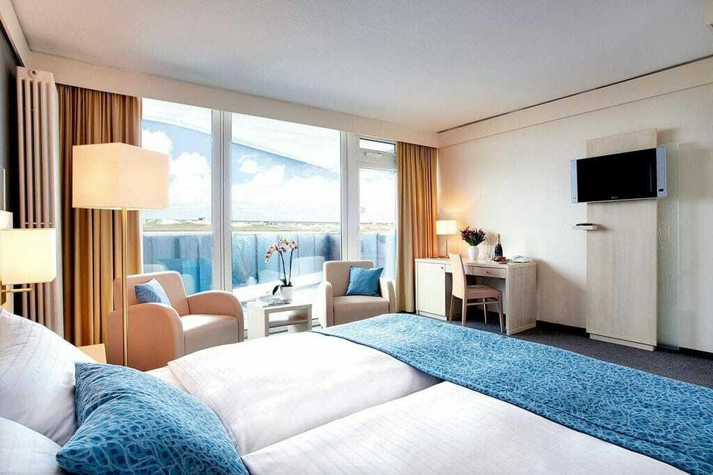 Blick in ein Doppelzimmer_AmbassadorHotel&Spa_St.PeterOrding