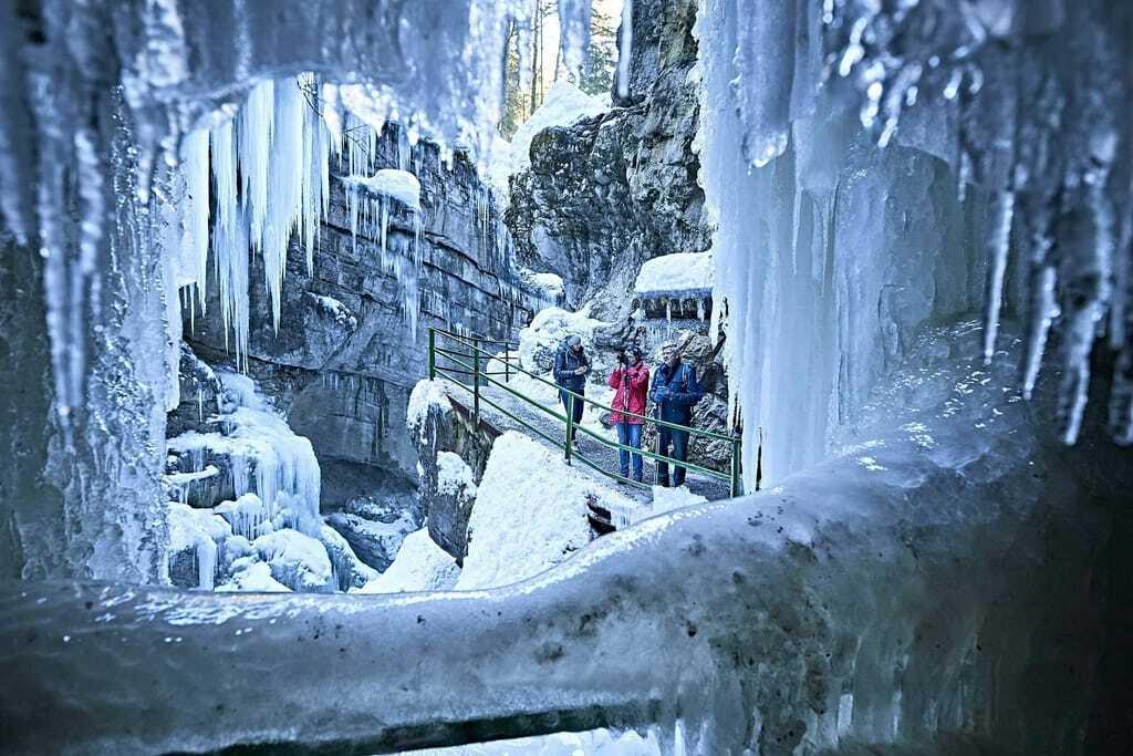 Breitachklamm Eishöhle