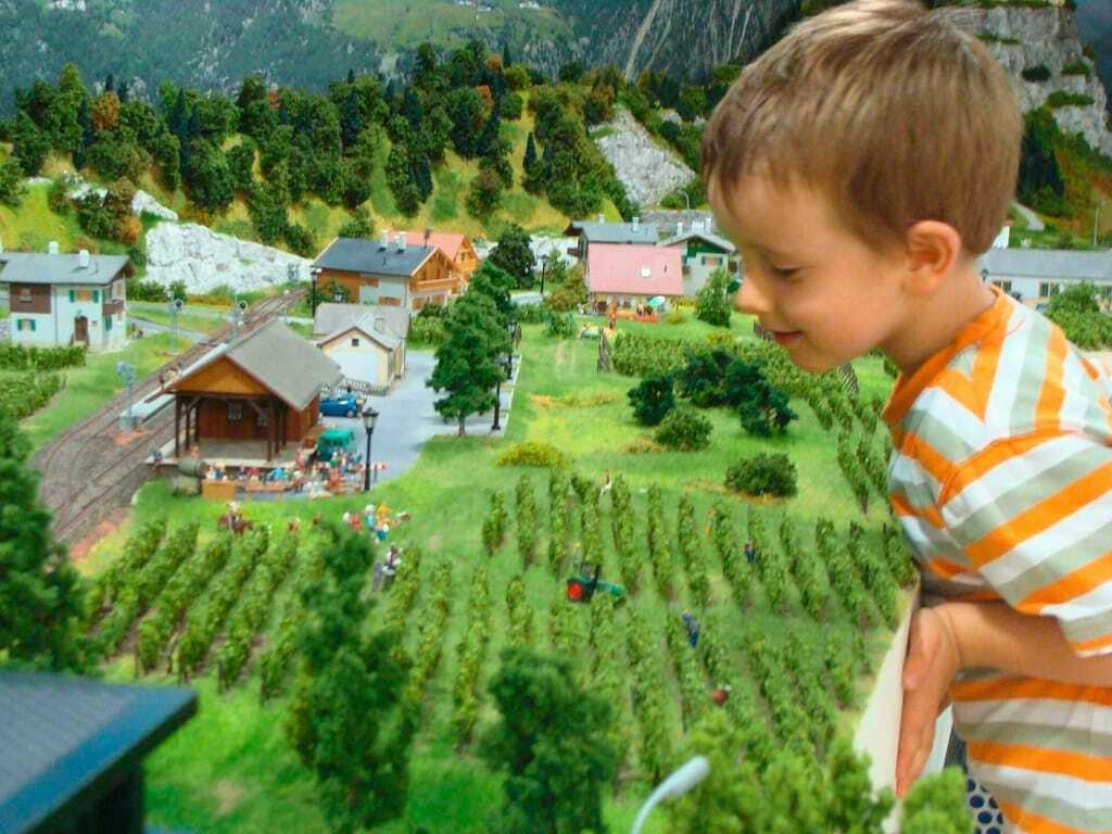 Freizeitpark Eisenbahnwelt Rabland Eisenbahn Kinder