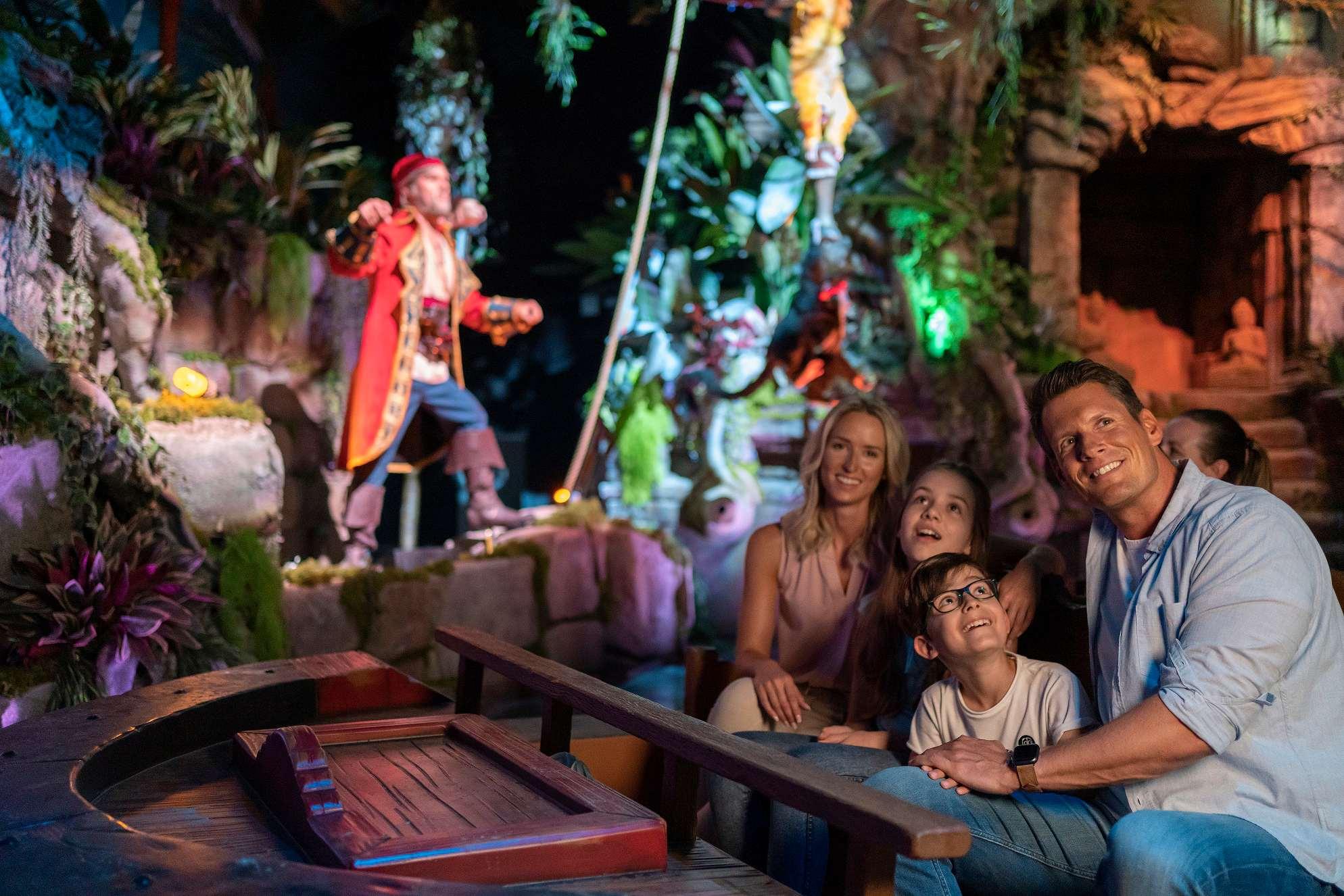 Freizeitpark Europa-Park Piraten Batavia Familie Wasser
