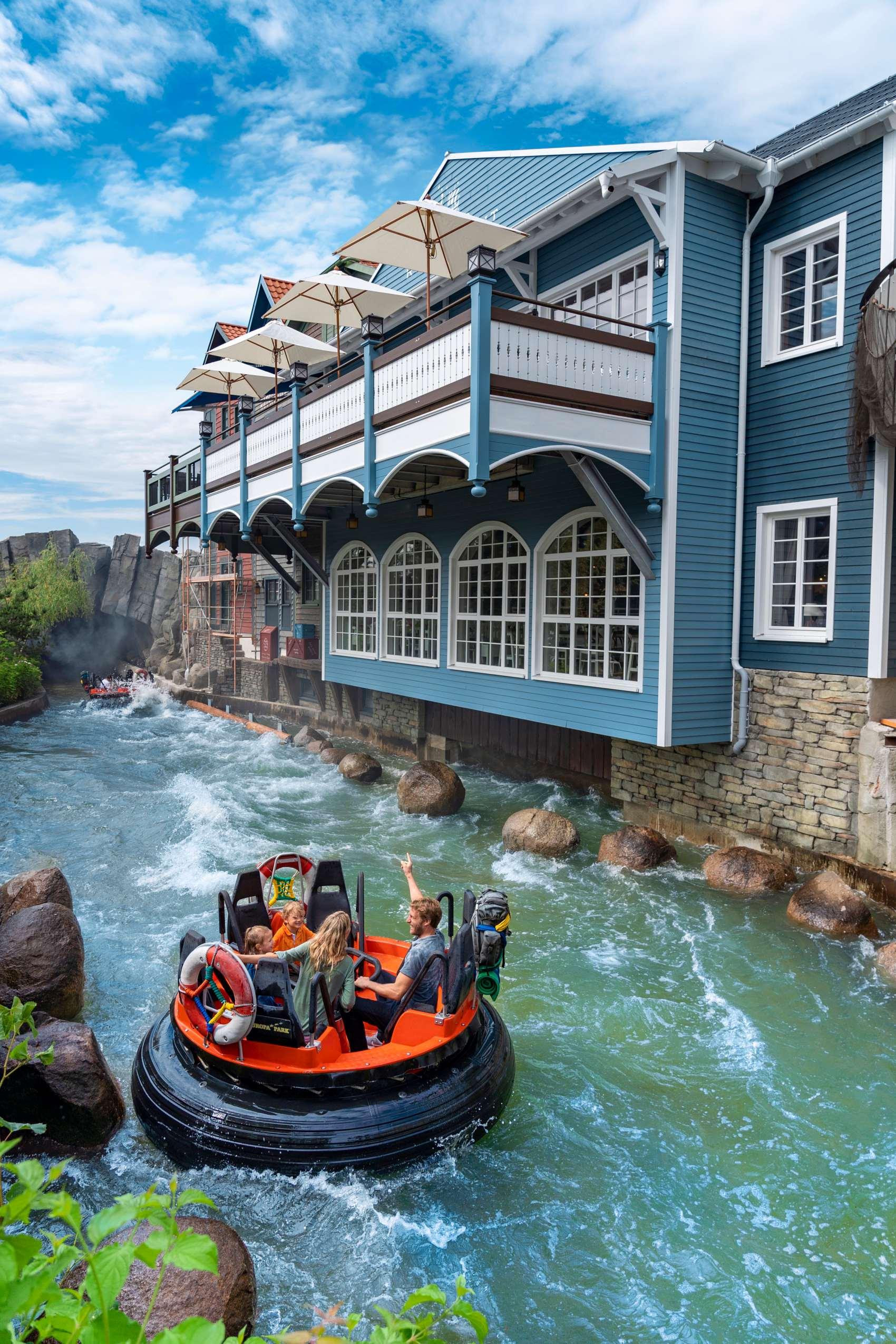 Freizeitpark Europa-Park Rafting Skandinavien Wasser