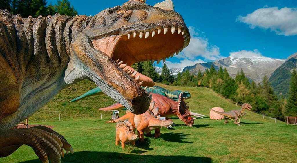 Freizeitpark Family Park Klausberg Dinosaurierer Dino Ahrntal