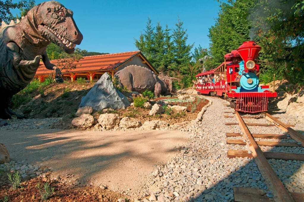 Freizeitpark Fantasiana Dinobahn