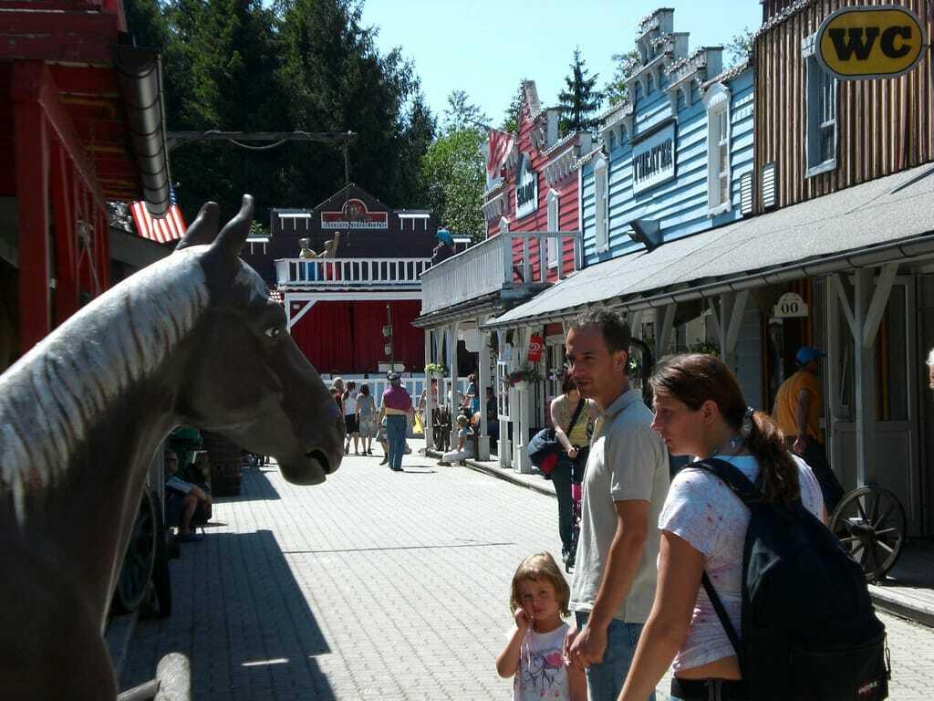 Freizeitpark Fantasiana Westernstadt Western