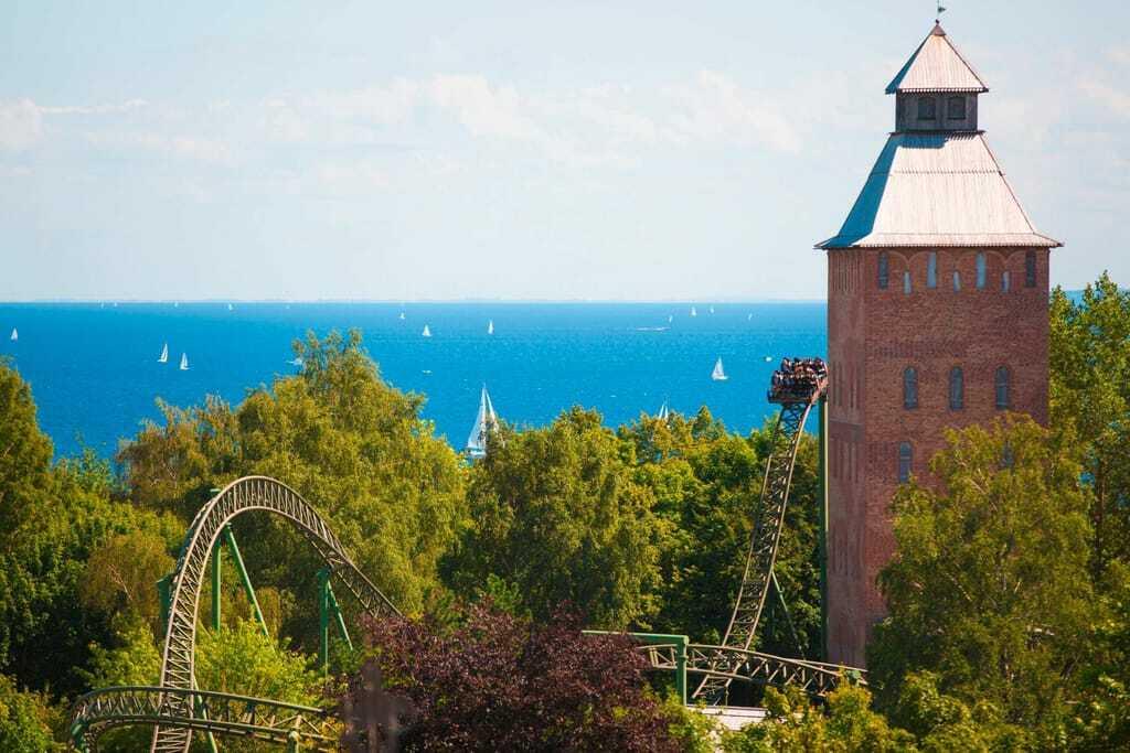 Freizeitpark Hansa-Park Meer Achterbahn