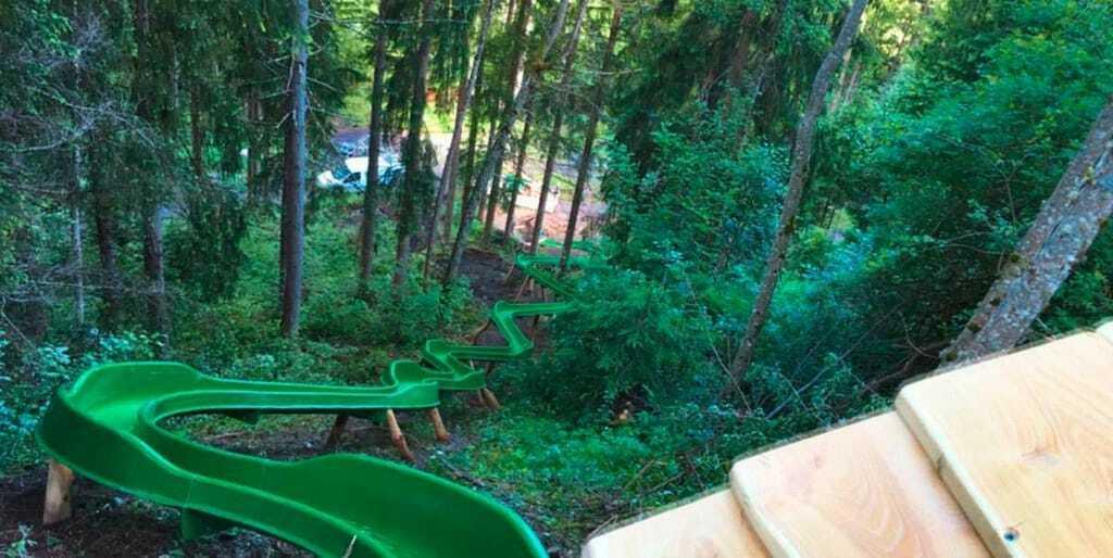 Freizeitpark Kinderwelt Olang Riesenrutsche Kronplatz