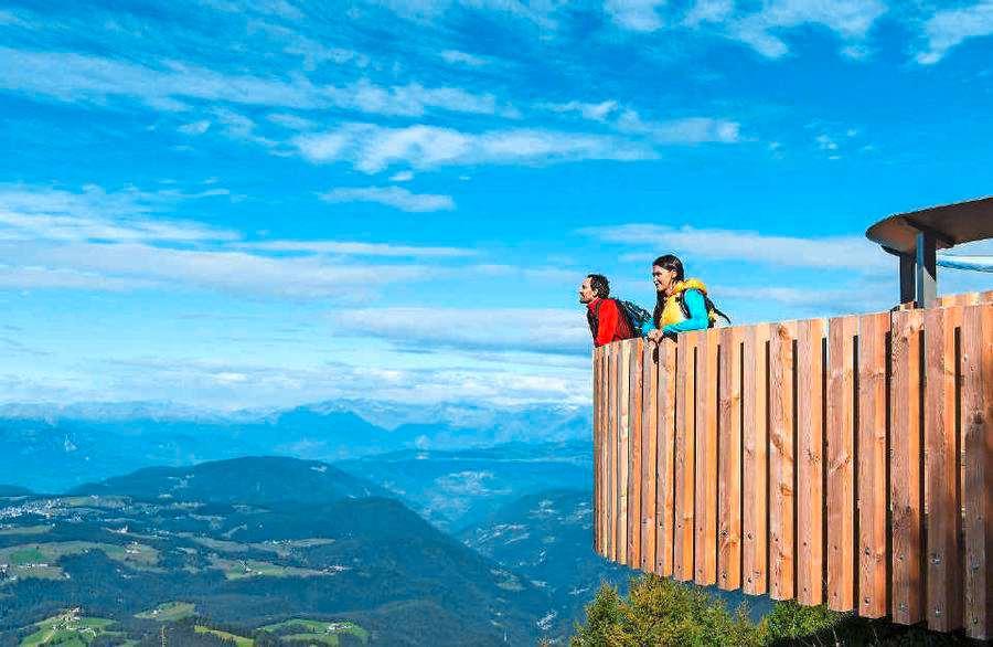 Freizeitpark Latemarium Aussicht Latemar.360°