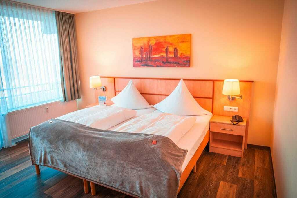 Hotelzimmer im Strandhotel Weissenhäuser Strand