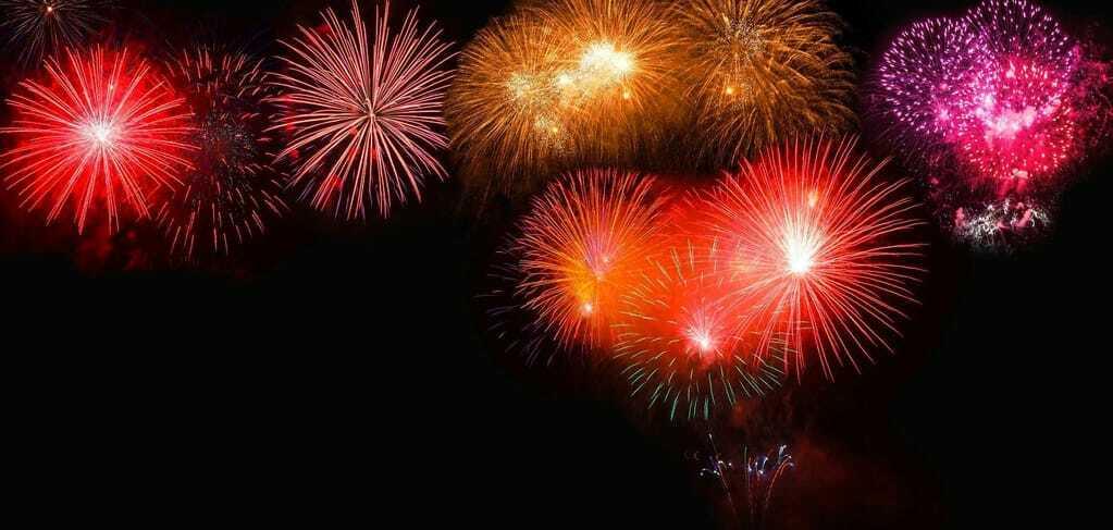 Kurzurlaub Silvester mit Feuerwerk