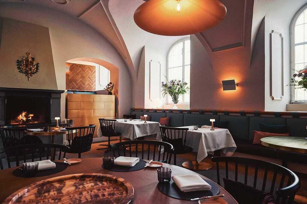 Speisesaal im Restaurant IGNIV by Andreas Caminada