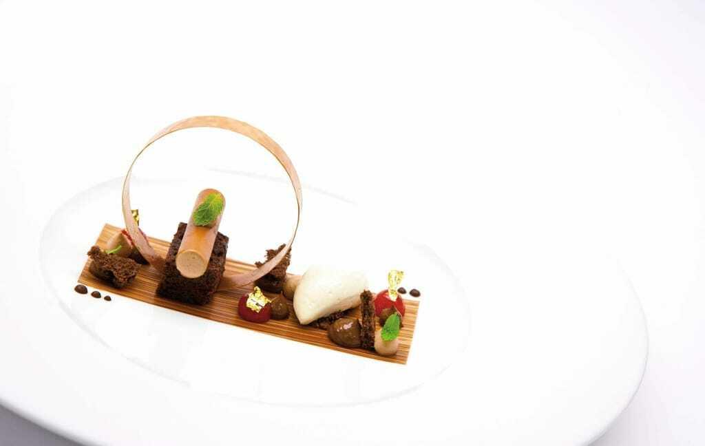 Dessert im Hotel Bareiss