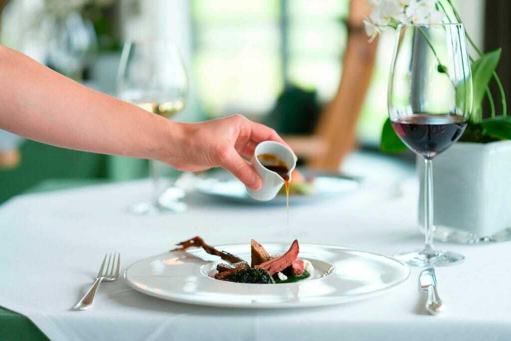 Sidi Food im Sonnenalp Resort