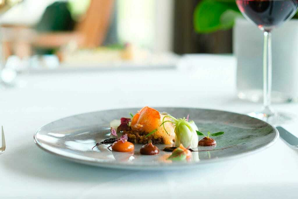 Gericht im Sonnenalp Resort