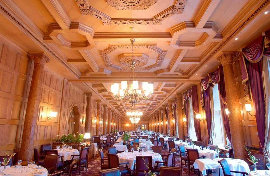 Hotels mit Sterneküche: Restaurant im Suvretta House