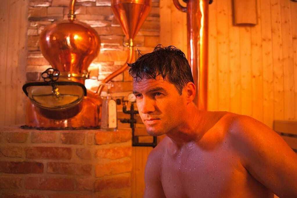 Schwarzbrenner-Sauna im Hotel Bodenmaiser Hof