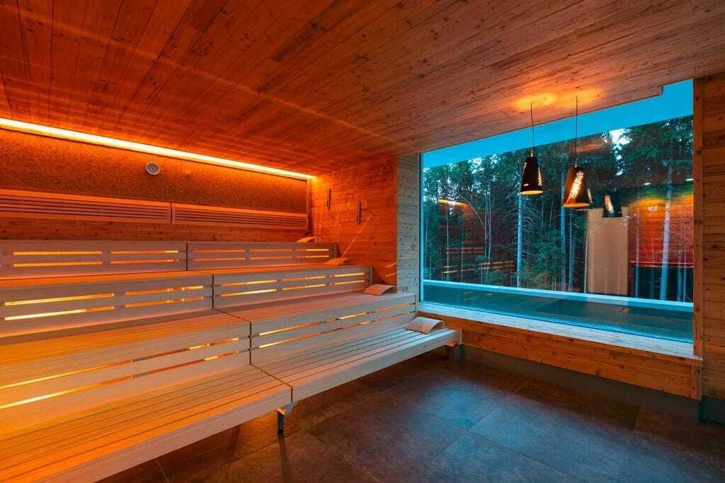 Panorama-Sauna im Fritz Lauterbad