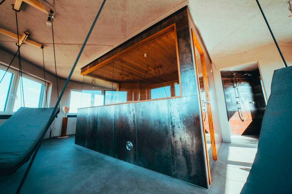 Außergewöhnliche Hotelsaunen: Leuchtturmsauna