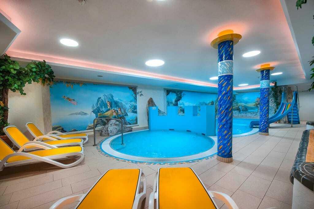 Kinderschwimmbereich im Hotel Zauchenseehof