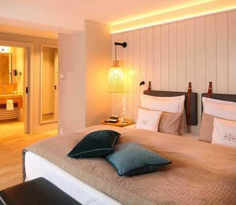 Doppelbett in Severins_Morsum_Kliff