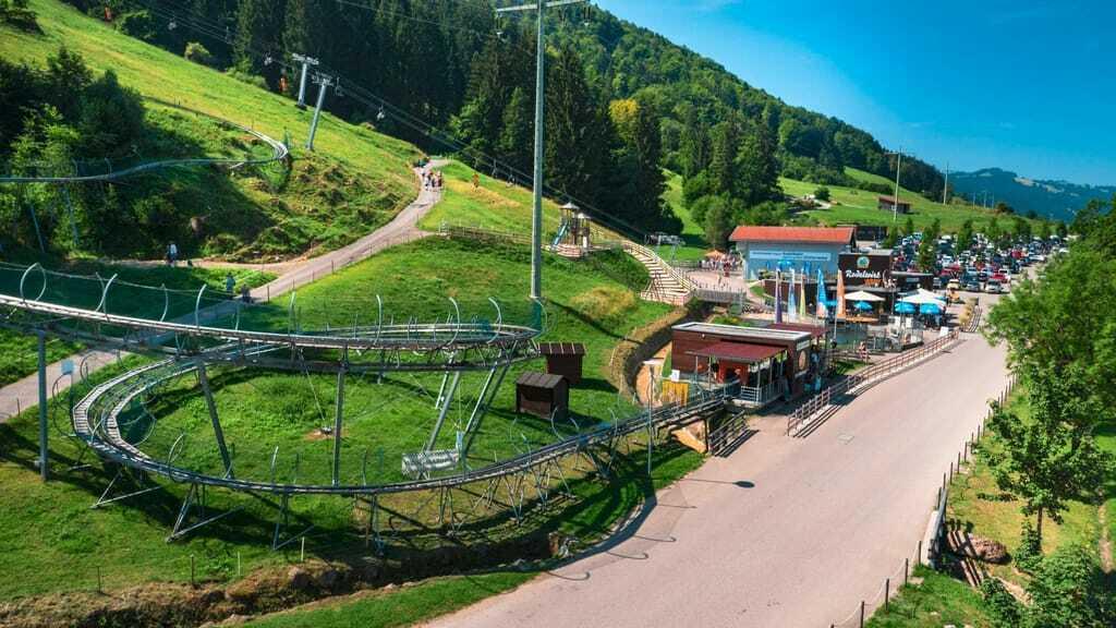 Endstation des Alpsee Coasters