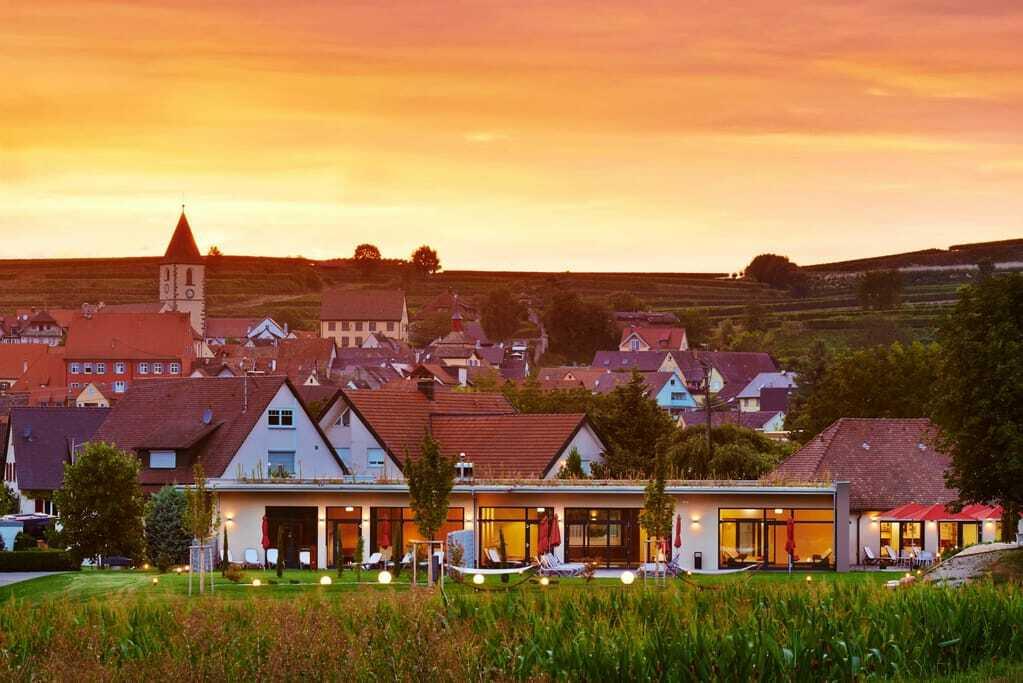 Weinhotels: Außenansicht Kreuz Post Hotel