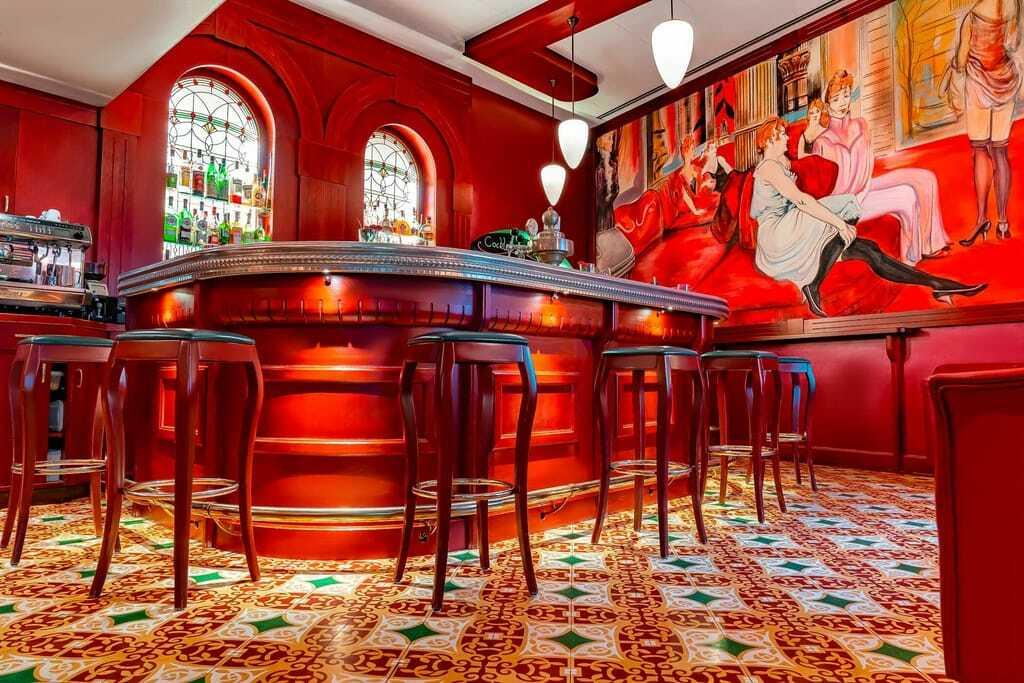 Bar im Romantik Jugendstilhotel Bellevue