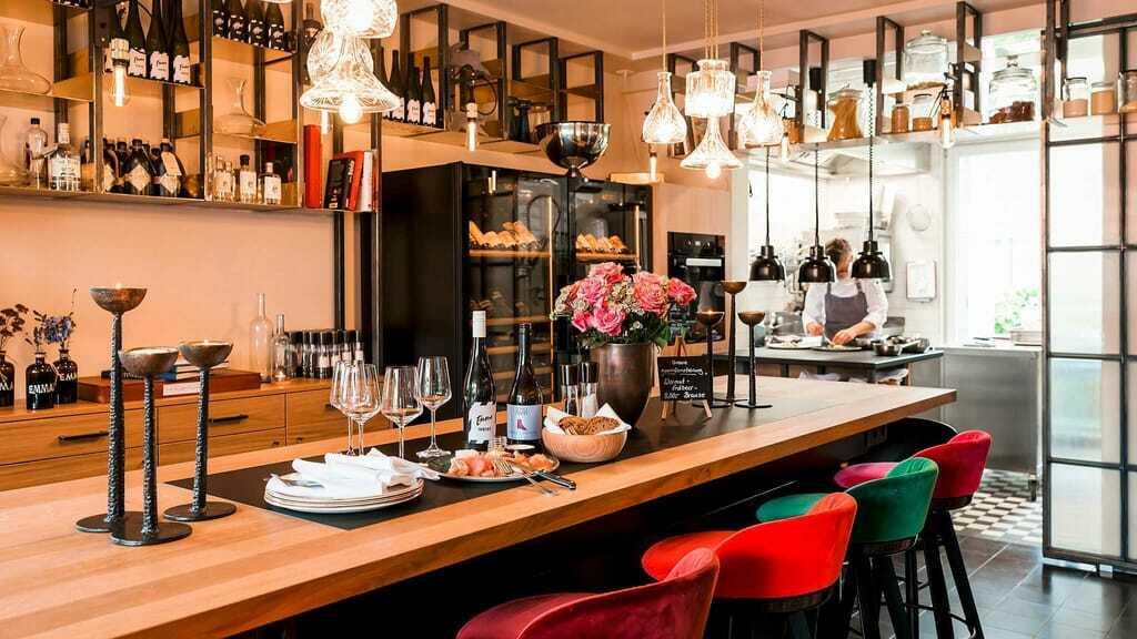 Weinbar im Hotel Zeller