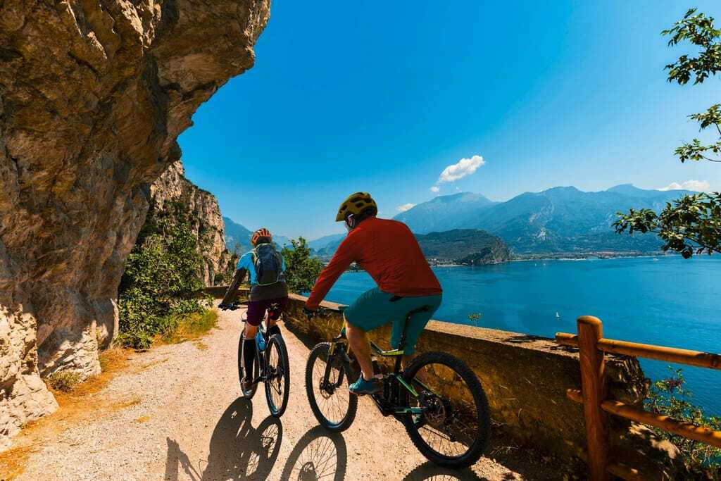 Aktivurlaub am Gardasee mit dem Fahrrad.