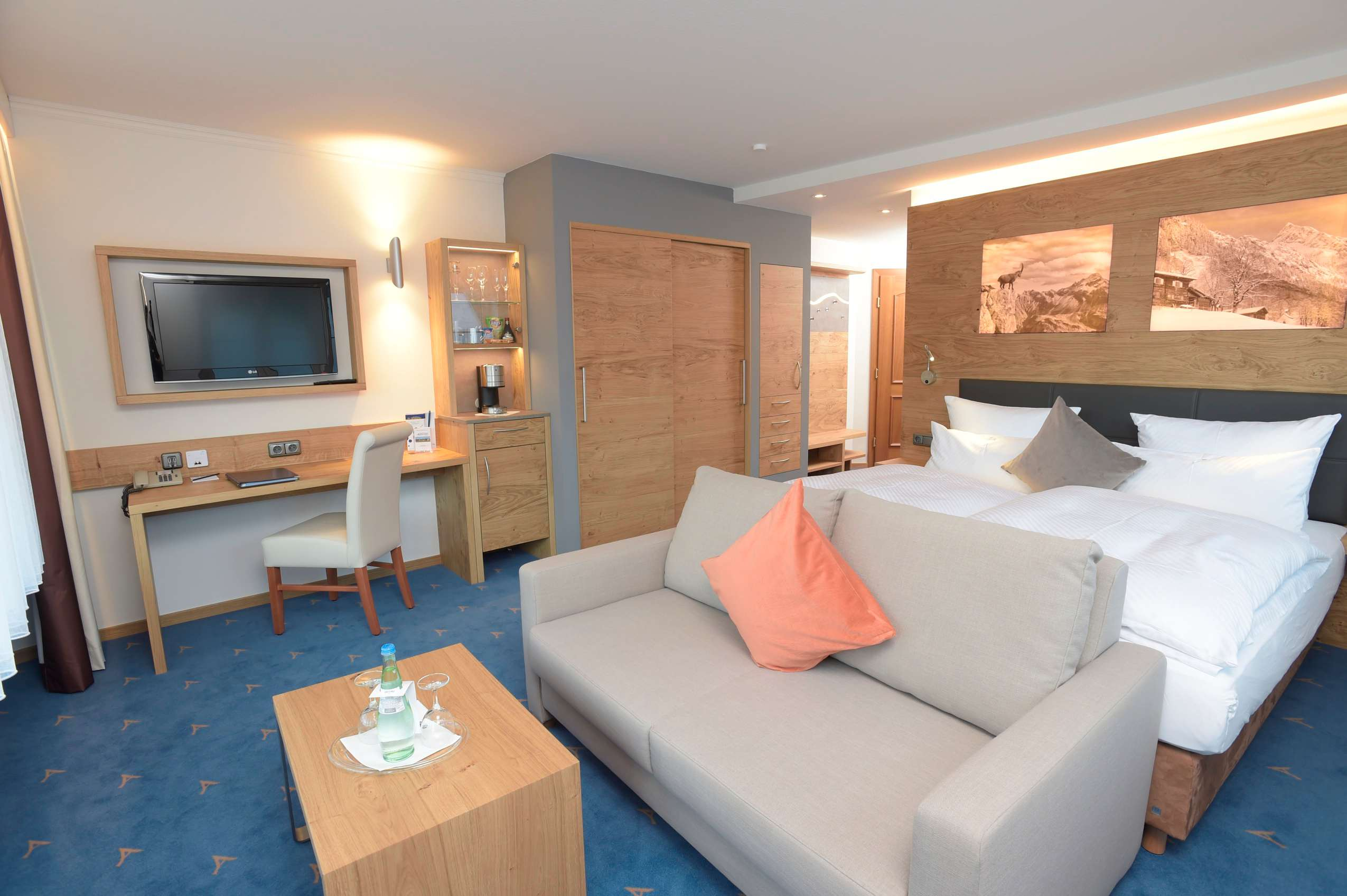 Doppelzimmer im Best Western Plus Hotel Alpenhof