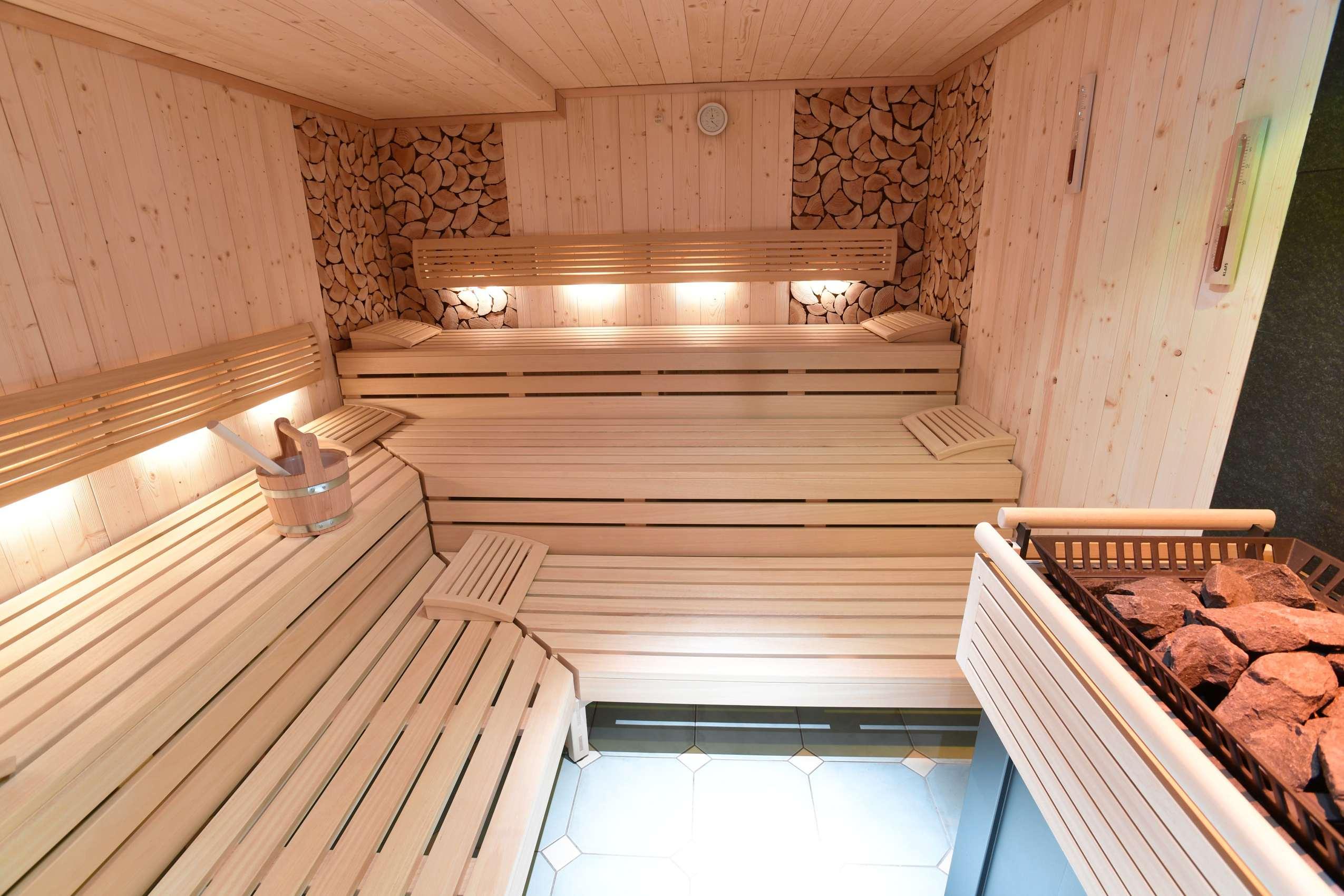 Finnische Sauna im Best Western Plus Hotel Alpenhof