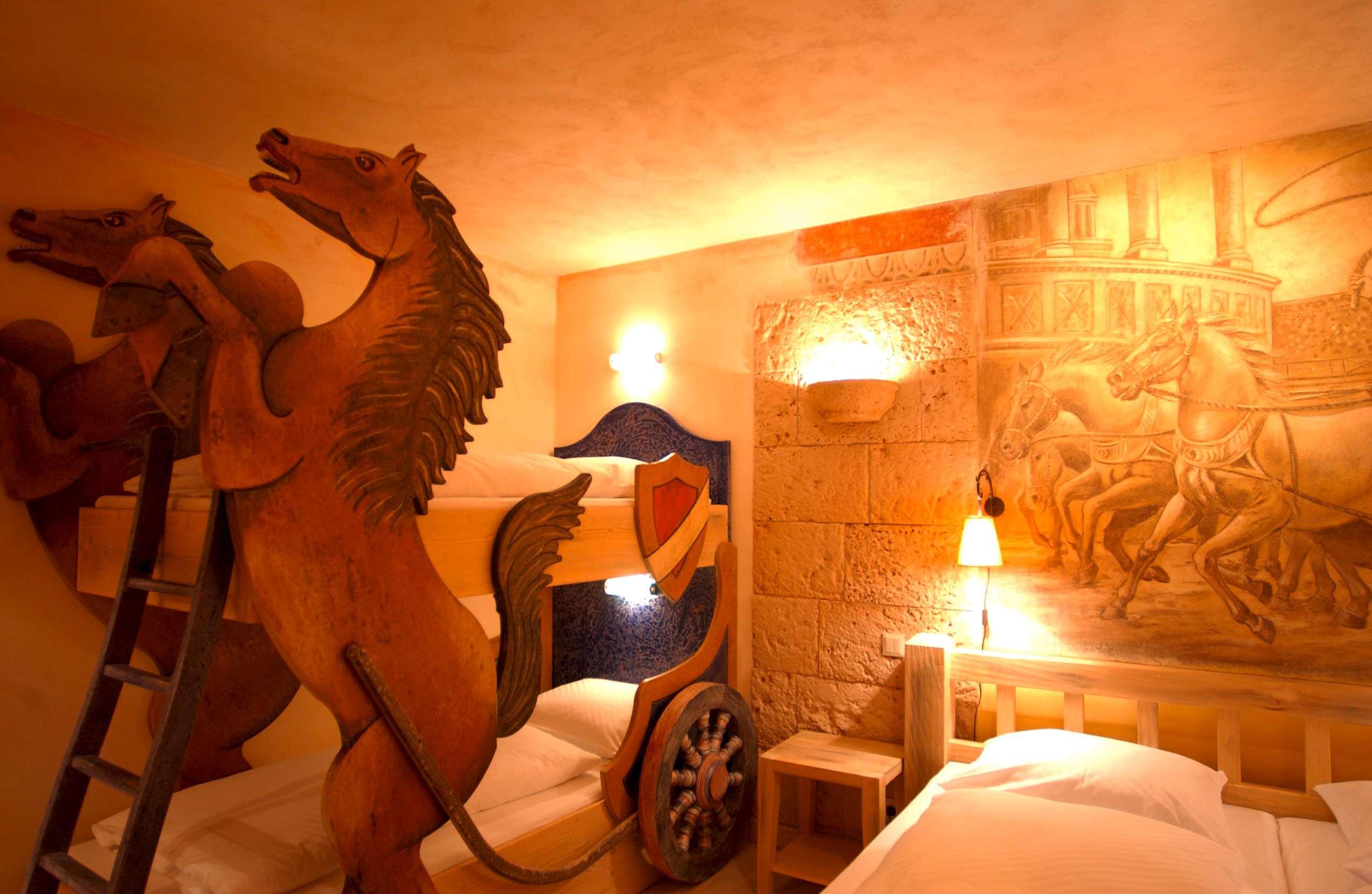 Familienzimmer im Hotel Colosseo.